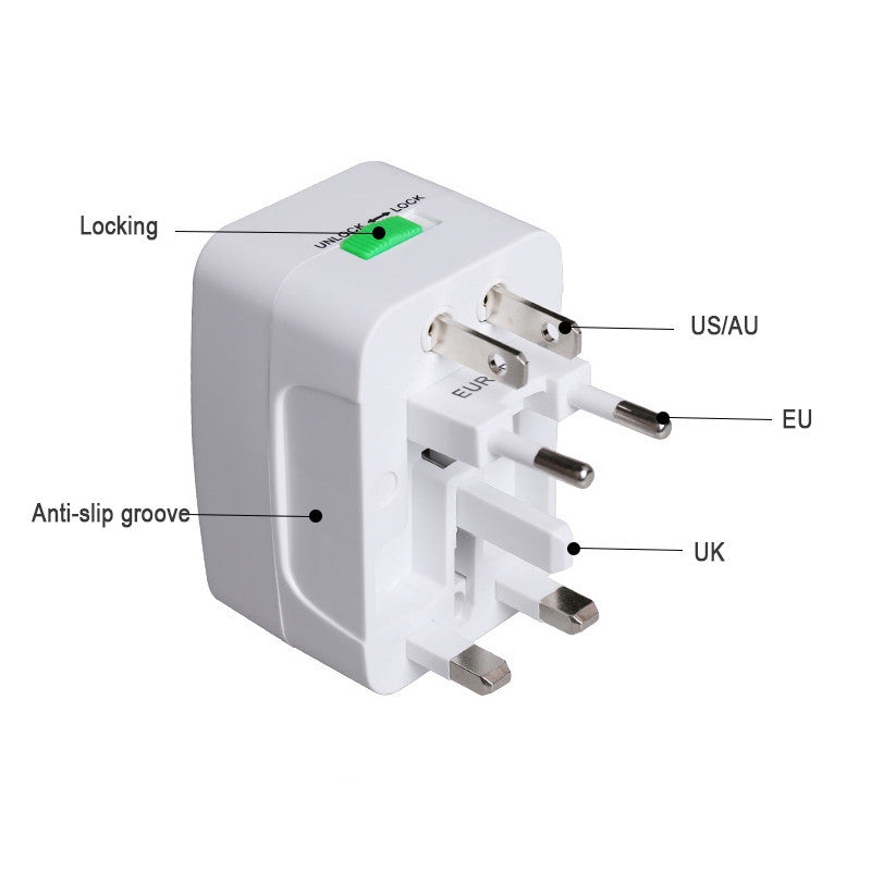 FREE!! International travel adapter -  USB Power Charger Converter EU UK US AU