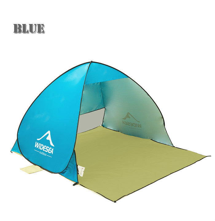 UV Protectant/ Water-Proof Pop up Tent -  No Assembly Required