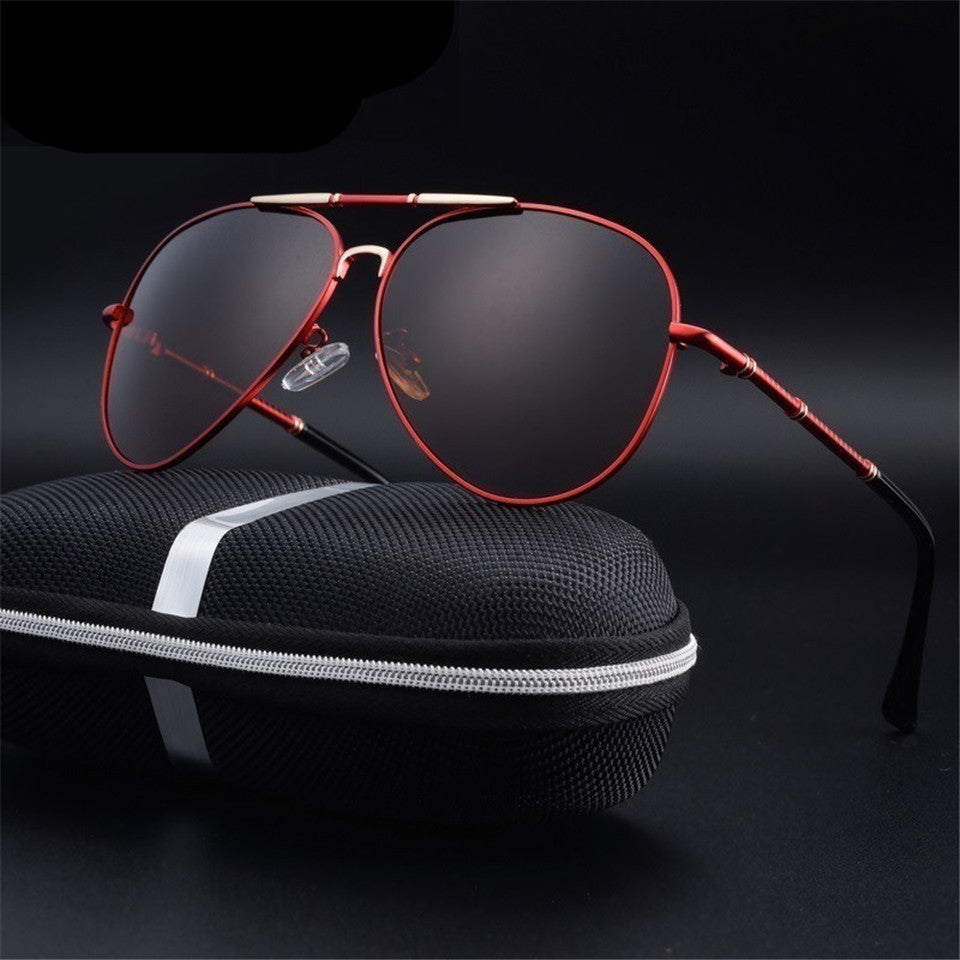 Men's Thin Polarized Aluminium Magnesium Sunglasses