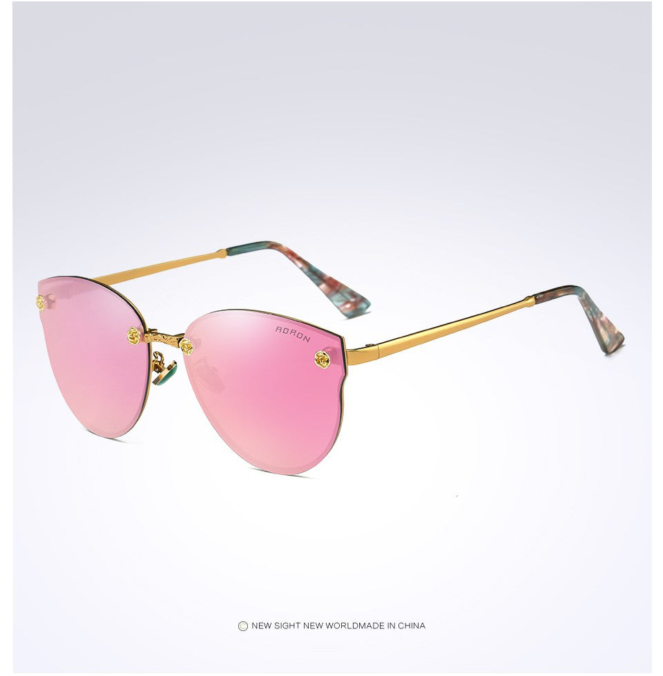 Women's Polarized Sunglasses - Butterfly Style