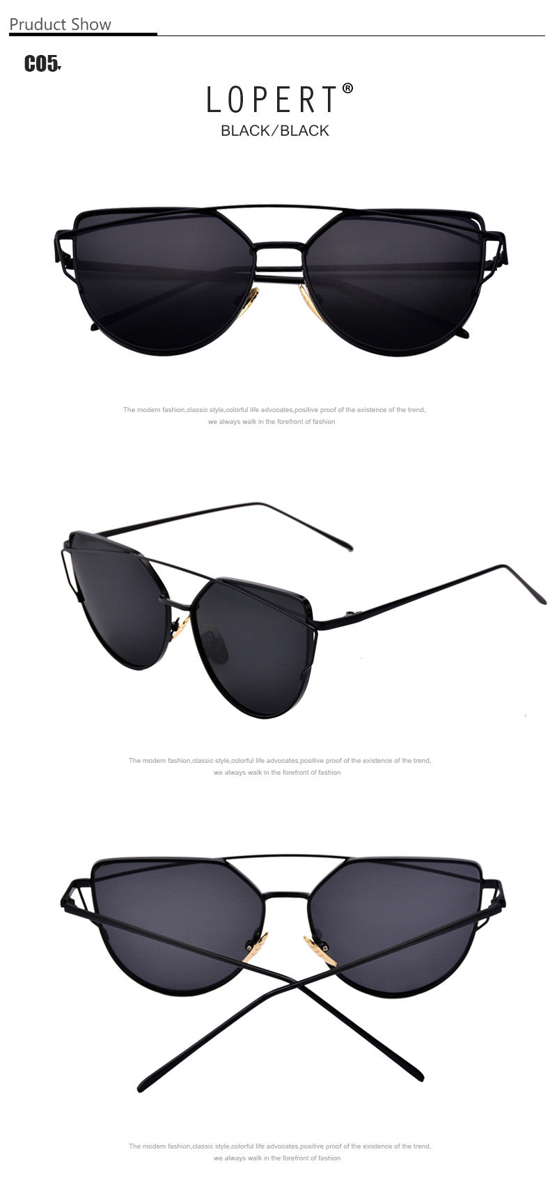 Women's  Cat Eye Polarized Sunglasses
