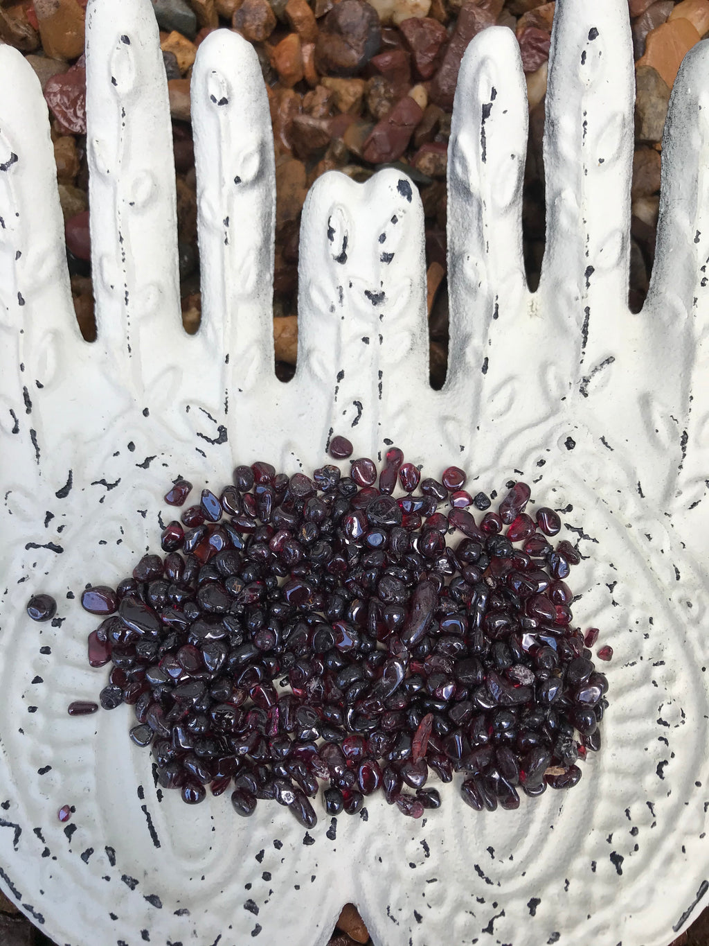 Garnet Chips ~ 100gm pouch