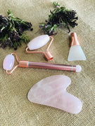 Facial Pamper Kit ~ Rose Quartz