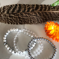 COLLECTION WHITE LIGHTHealing Bracelets Set of 3©️