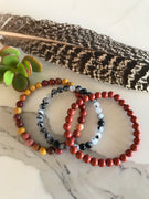 GROUNDING EQUILIBRIUM ~ Healing Bracelet Set of 3©️