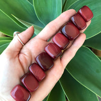 Red Obsidian Tumble Stones