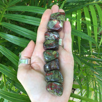 Dragons Blood Jasper Tumble Stones