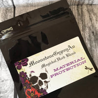 MoonstoneGypsyAu Magickal Herb Blend ~ MATERIAL PROTECTION