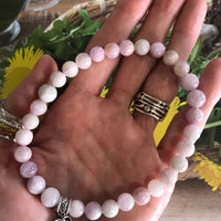 Kunzite Healing Anklet ~ Compassion