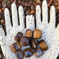 Tigers Eye Tumble Stones