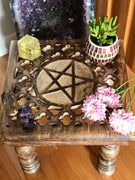 Altar Table ~ Pentacle
