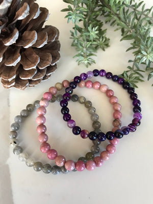 COLLECTION ~ BLESSED BE Healing Bracelets Set of 3©️