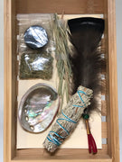Abalone Sacred Mini Smudge Kit ~ Set of 6