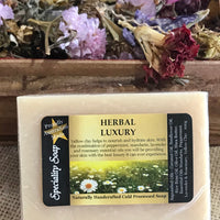 Natural Handmade Soap ~ Herbal Luxury