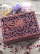 Wooden Tarot/Trinket Box ~ HASMA