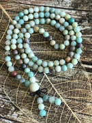 Amazonite Mixed Mala/Prayer Beads CALMING