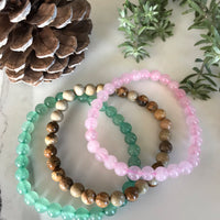 ATTRACT LOVE COLLECTION ~ Healing Bracelet Set of 3©️