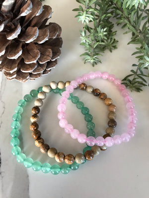COLLECTION ~ ATTRACT LOVE Healing Bracelet Set of 3©️