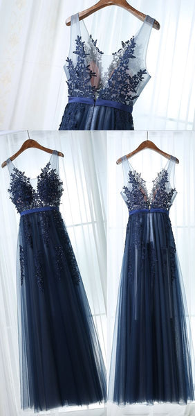 Fashion A-line Prom Dresses, Charming Prom Evening Dresses,Long Prom Dress PDS0381