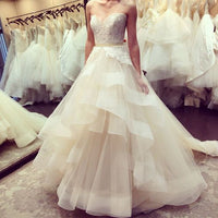 Sweetheart Ball Gown Bridal Dresses Fashion Wedding Dresses Vestidos de Novia BDS0513