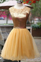 Short Beaded Homecoming Dress ,Short Wedding Dress, Prom Dresses Cocktail Dresses Graduation Dresses PDS0312
