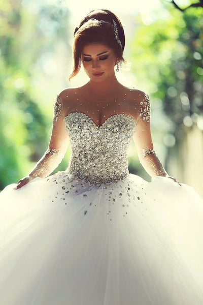 Princess Style Ball Gown Wedding Dress Popular Bridal Gown RP0049