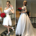 2 in 1 Popular Wedding Dress,Fashion Bridal Dresses SN0618
