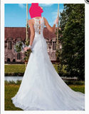 Popular Wedding Dress,Popular Bridal Dress With Appliques BDS0130