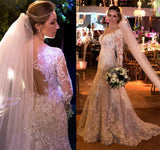 Sex Mermaid Wedding Dress with Applique and Beading , Fashion Bridal Dress BDS0252