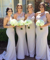 One Shoulder Fashion Long Mermaid Bridesmaid Dresses Wedding Party Dress Formal Dress PDS0648