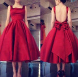 2018 New Style Satin Homecoming Dress, Short Prom Dress, Back To School Dress Party Dress PDS0740