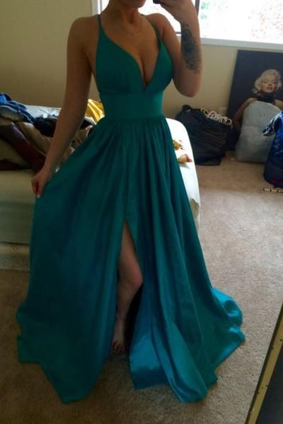 Charming Prom Dress, Sexy Prom Dresses, Sleeveless Prom Dresses, Long Prom Dress, Evening Formal Dress PDS0394