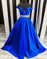 Off the Shoulder Long Prom Dress ,Wedding Party Dress,Popular Cocktail Dress,Fashion Evening Dress  PDS0150