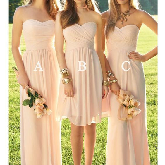 A-line Fashion Chiffon Bridesmaid Dress,Popular Wedding Party Dress PDS0008