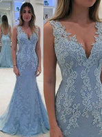 Mermaid Long Prom Dresses,Fashion Winter Formal Dress, School Dance Dress PDS1029