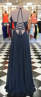 A-line Simple Long Prom Dress ,Party Dress ,Formal Dress, PDS0525
