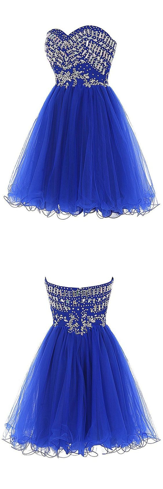 Short Beading Homecoming Dress , Short Prom Dress, PDS0040