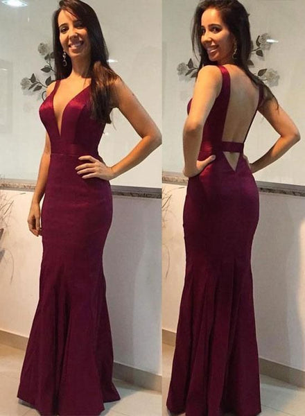 Sexy Mermiad Long Prom Dress ,Party Dress ,Formal Dress, PDS0524