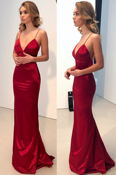 Sexy Simple Long Prom Dress ,Wedding Party Dress ,Formal Dress PDS0565