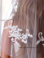Wedding Short Veil Lace Veil  LV04
