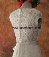 A-line Real Photo Lace Wedding Dress  ,Popular Bridal Dress BDS0103