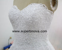 Sweetheart Real Photo Wedding Dress,Popular Bridal Dress With Appliques and Pearls BDS0129
