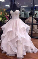 Sweethear A-line Long Prom Dress,Beading Wedding Party Dress,Popular Cocktail Dress,Fashion Evening Dress PDS0202