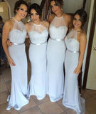 Fashion Long Bridesmaid Dress ,Popular Long Wedding Party Dress PDS0265