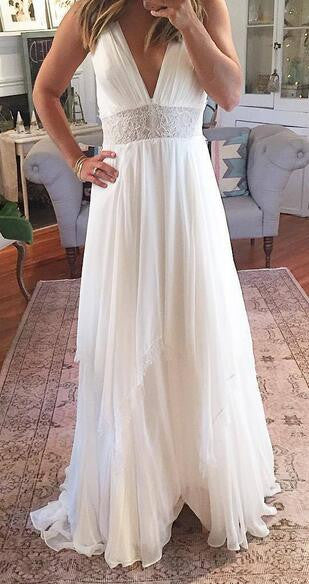 Popular Beach Wedding Dresses, Fashion Bridal Dress BDS0029