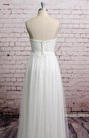 A-line Beach Wedding Dresses, Fashion Bridal Dress BDS0050