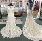 Fashion Mermaid Wedding Dress ,Popular Bridal Dress With Applique BDS0045