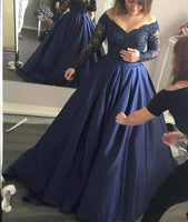 Off the Shoulder Real Photo Ball Gown Wedding Dress,Popular Colored Bridal Dress With Applique BDS0111
