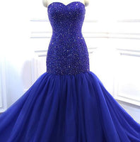 Mermaid Long Prom Dress with Beading,Popular Real Photo Wedding Party Dress,Fashion Evening Dresses PDS0218
