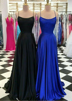 Simple A-line Long Prom Dress ,Party Dress ,Formal Dress, PDS0536